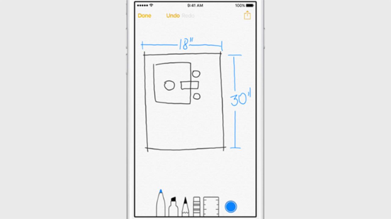 iOS 9の「メモ」アプリは便利そう #WWDC2015