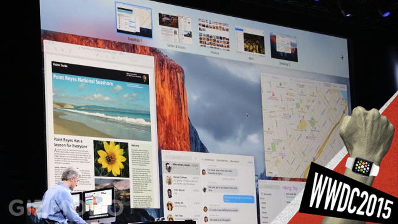 「OS X El Capitan」は「Yosemite」に似たアップデート版 #WWDC2015