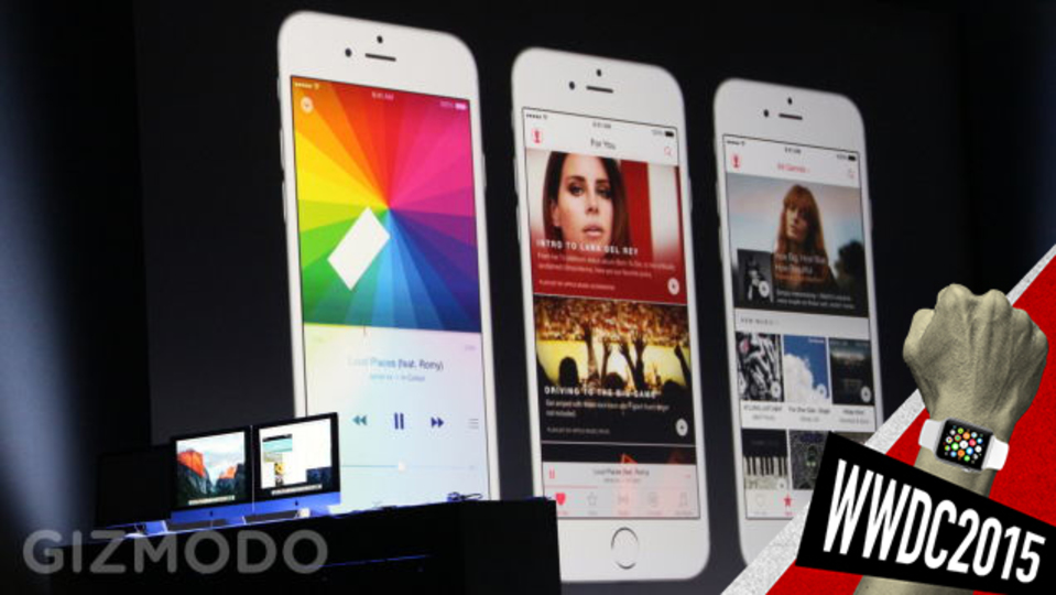 Apple Music:アップルとBeatsによる音楽ストリーミングへの回答 #WWDC2015