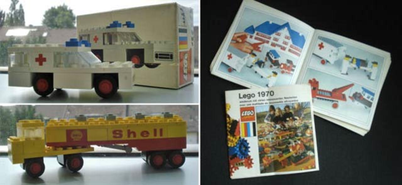 ラッキー! 70年代のお宝レゴがゴミ箱の中から見つかる
