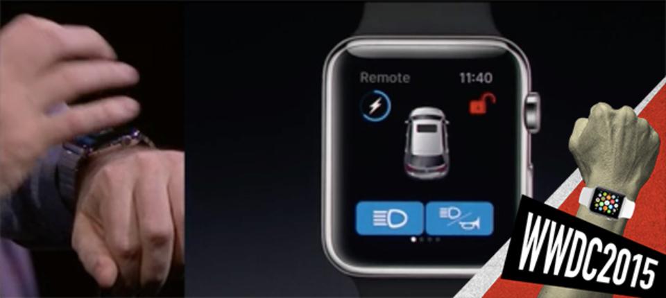 ネイティブアプリの登場でApple Watchが便利になりそう #WWDC2015