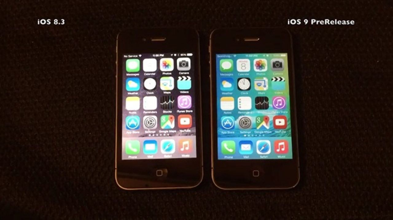 iPhone 4sでiOS 9を動かすって一体どうなの?