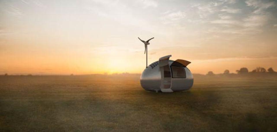 風力&ソーラー発電つき、完全独立のお一人様ホーム