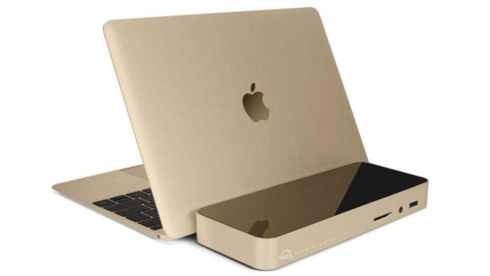 新MacBookのUSB-Cを11倍に拡張するドック