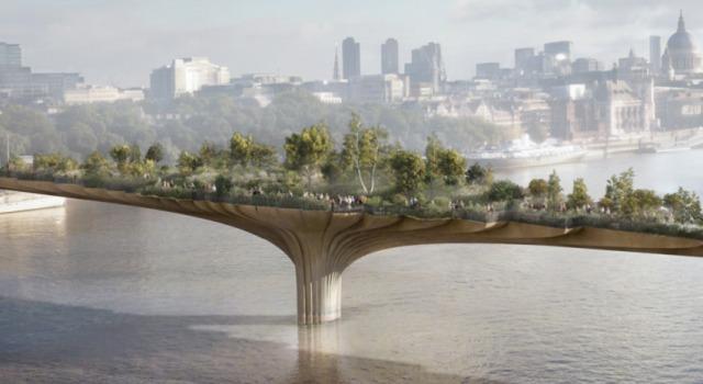ロンドンに建設予定のガーデン・ブリッジが物議を醸す理由とは?