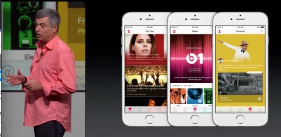 Apple Music、オフラインでも聞けるよ