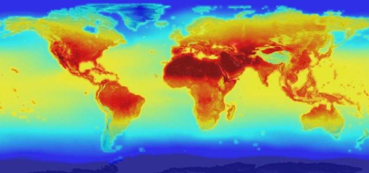 NASAによる2100年の世界天気予想