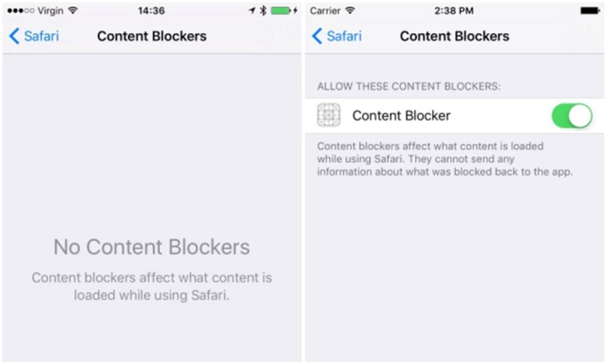 なんと、iOS 9では広告ブロック機能の実装が可能に