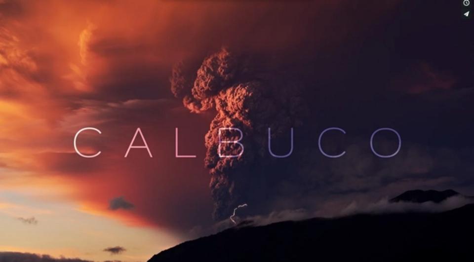 チリ、火山の大噴火をとらえた4Kタイムラプス動画