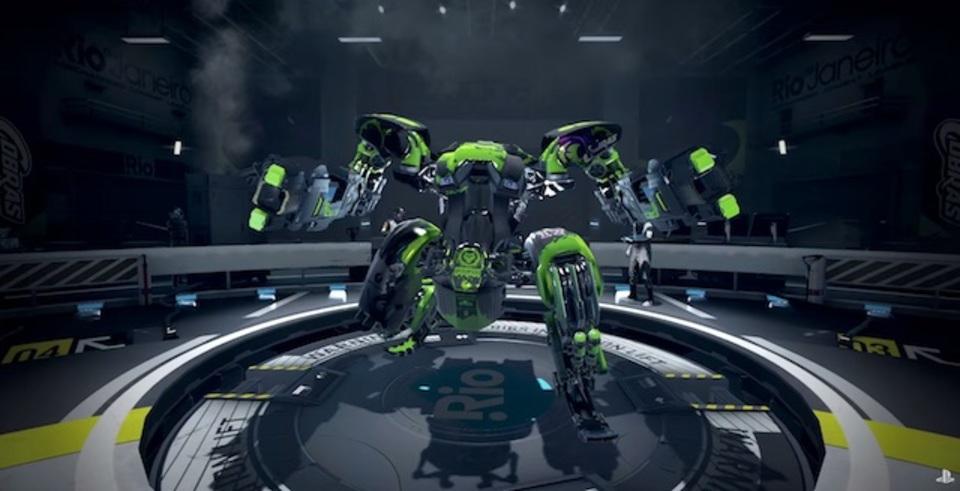 コックピットでロボットを操る興奮を…! Project Morpheus対応、新感覚ロボットゲーム「RIGS」