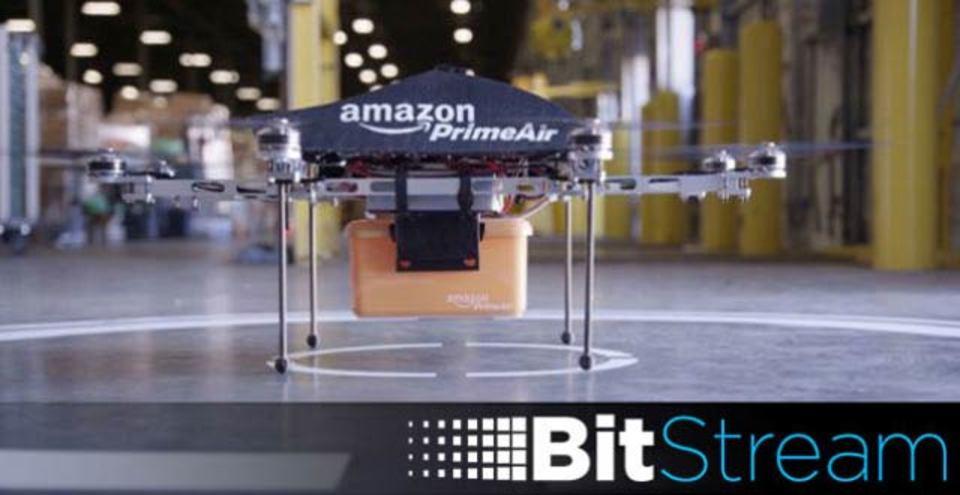 アマゾンの配達ドローン、1年後には空を飛んでいるかも!