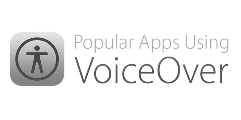 Appストアのアプリが「VoiceOver」で聞けます