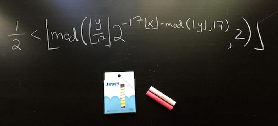 世界中の数学者から日本のチョークへ愛をこめて