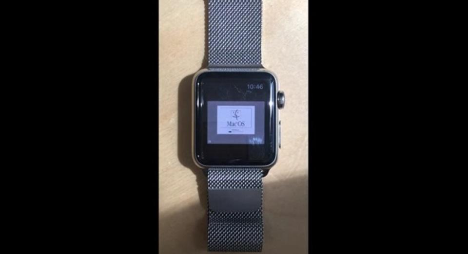 Apple Watchで20年前のレトロOSを動かしてみた
