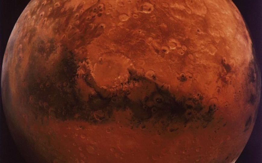 最近(百万年以前)火星に水があったらしい