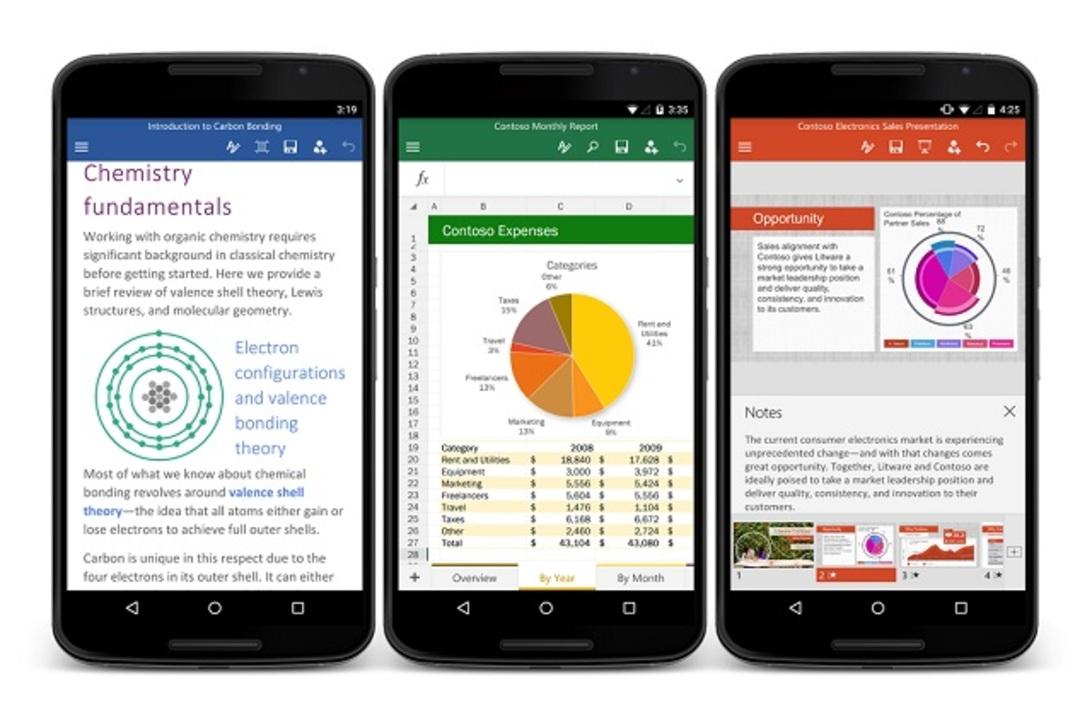 Android版Officeアプリの正式配布が始まったよー