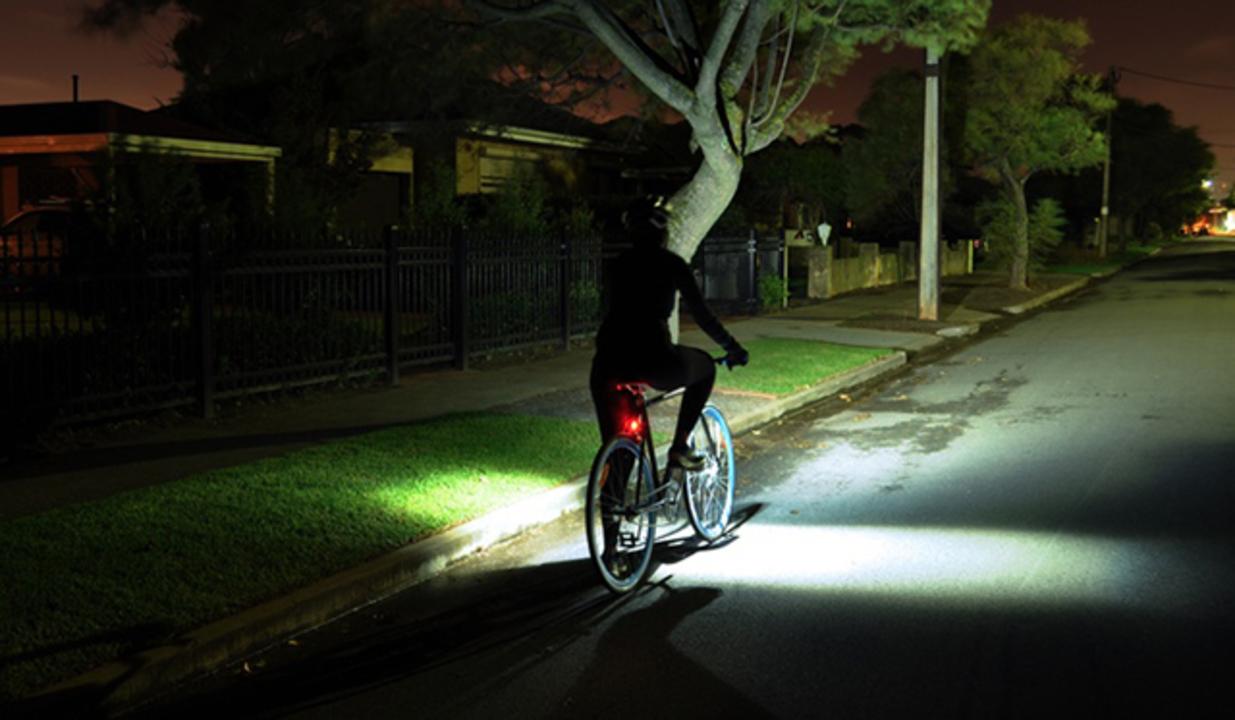 自転車用のライト、ここに極まり!