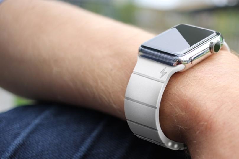 Apple Watchのサードパーティ充電バンドのデザインと価格が決定