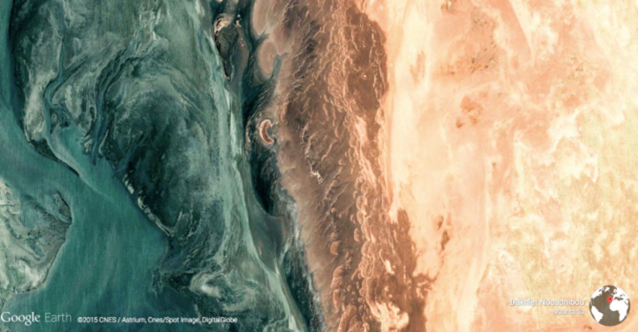 Google Earth選りすぐりの地球の絶景ギャラリー「Earth View」