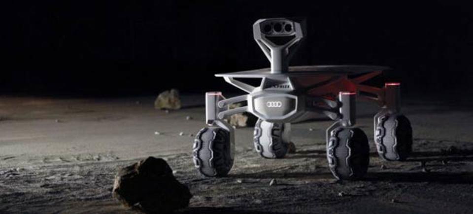 アウディ、月へ行く。月面探査機を開発中!