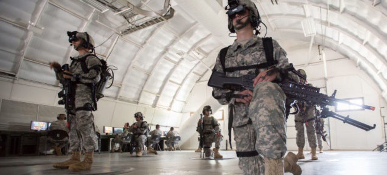 VRの本格展開きた…米陸軍で特殊訓練に正式採用中