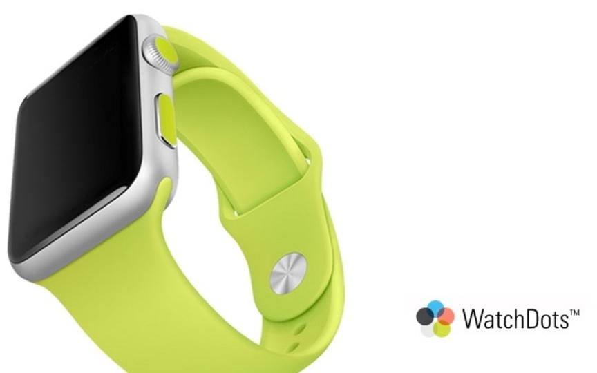 「WatchDots」でApple Watchにワンポイントなコダワリを