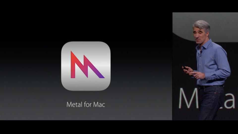新グラフィックAPI「Metal for Mac」でレンダリング速度を50%改善 #WWDC2015