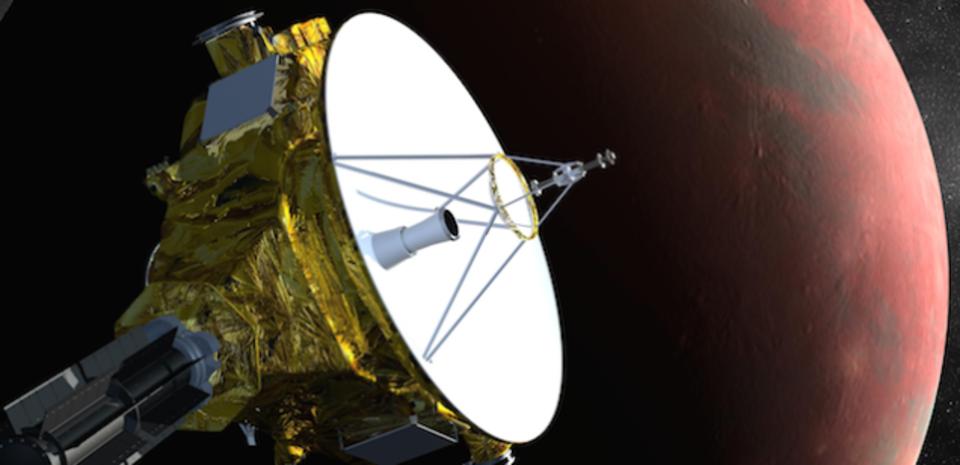 冥王星の探査機がちょっとだけ音信不通になっただけなんですってば