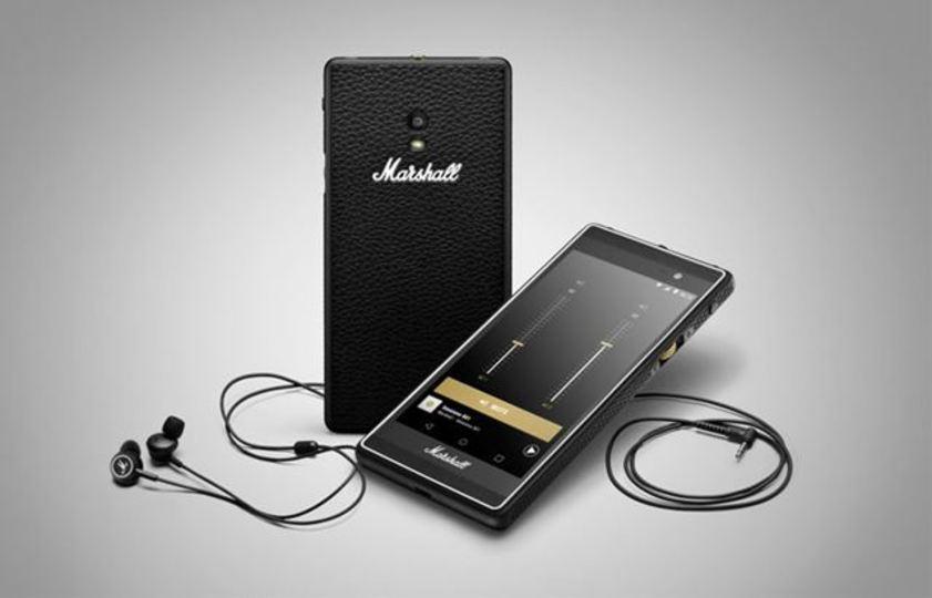 音楽好きなら手に取りたくなるマーシャルのスマートフォン