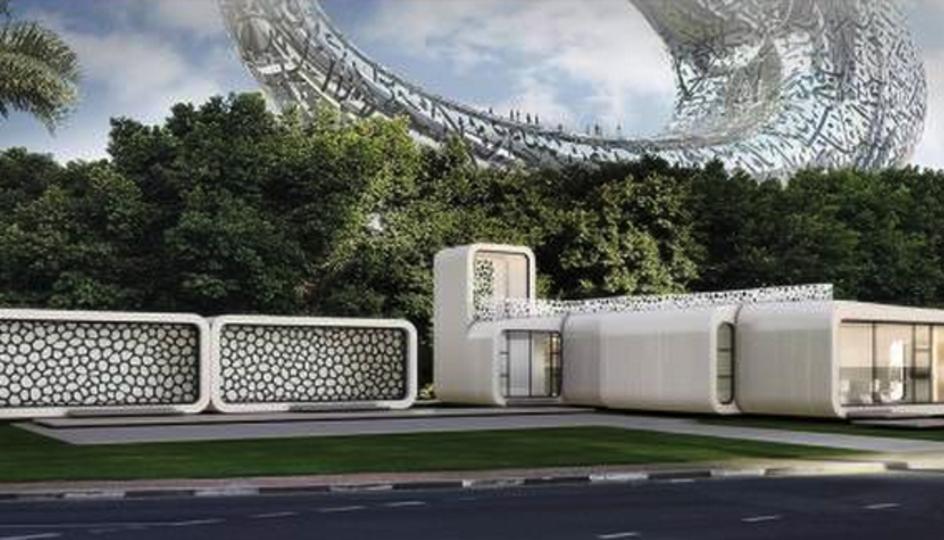 ドバイヤバイ。国を挙げて超大型3Dプリンターで建物をビルディング