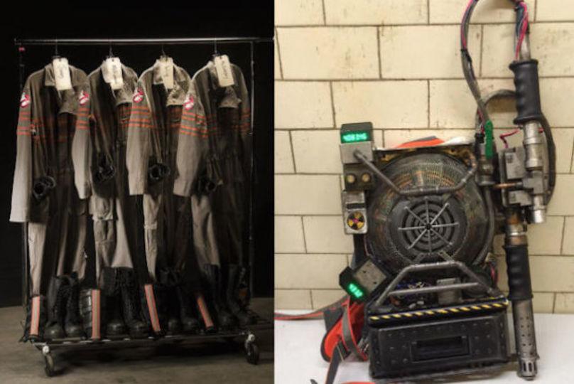 来年公開予定。「ゴーストバスターズ3」の衣装とあの武器が初お披露目