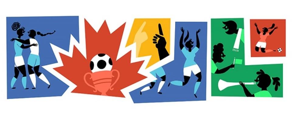 グーグルも女子ワールドカップを応援してくれました