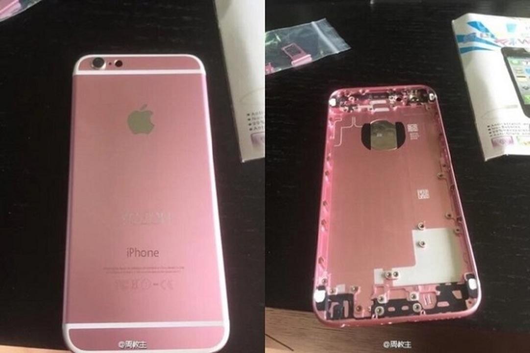 ローズゴールドのiPhone 6s、自力で作ってみた