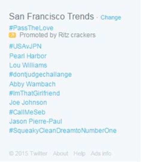 アメリカの今日のツイッタートレンドは真珠湾