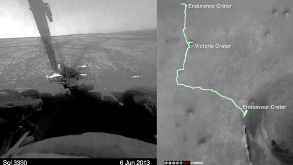 8分で振り返る、火星探査機の11年分のミッション