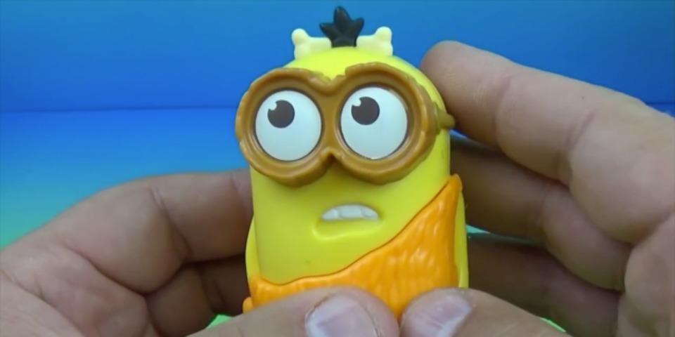ハッピーセットのおもちゃに親マジギレ