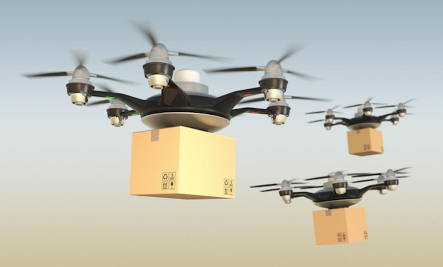 スイス郵便局、ドローン配達のテストを開始