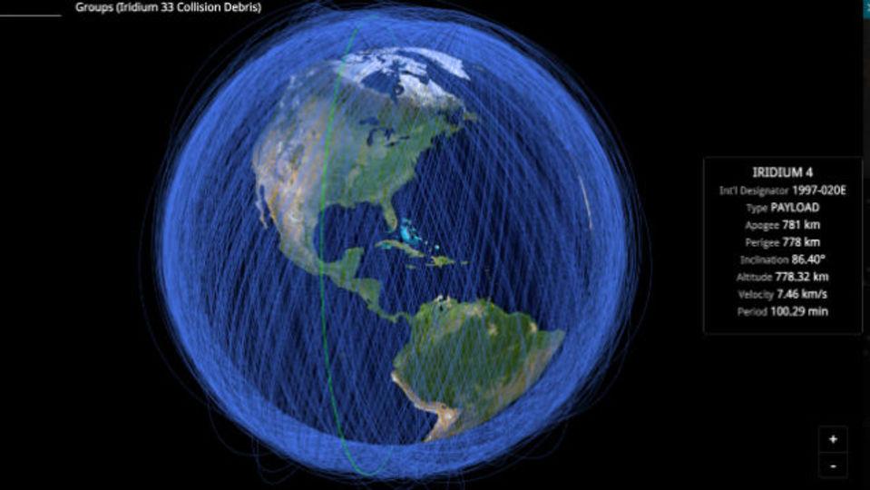 地球の周りを回る物体すべてをリアルタイムでお見せします