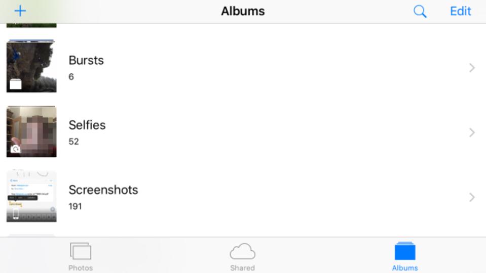 これも時代。iOS 9ベータ版にセルフィーフォルダが登場