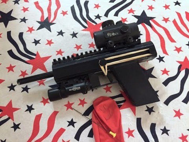 ダート銃を3Dプリントするのは合法