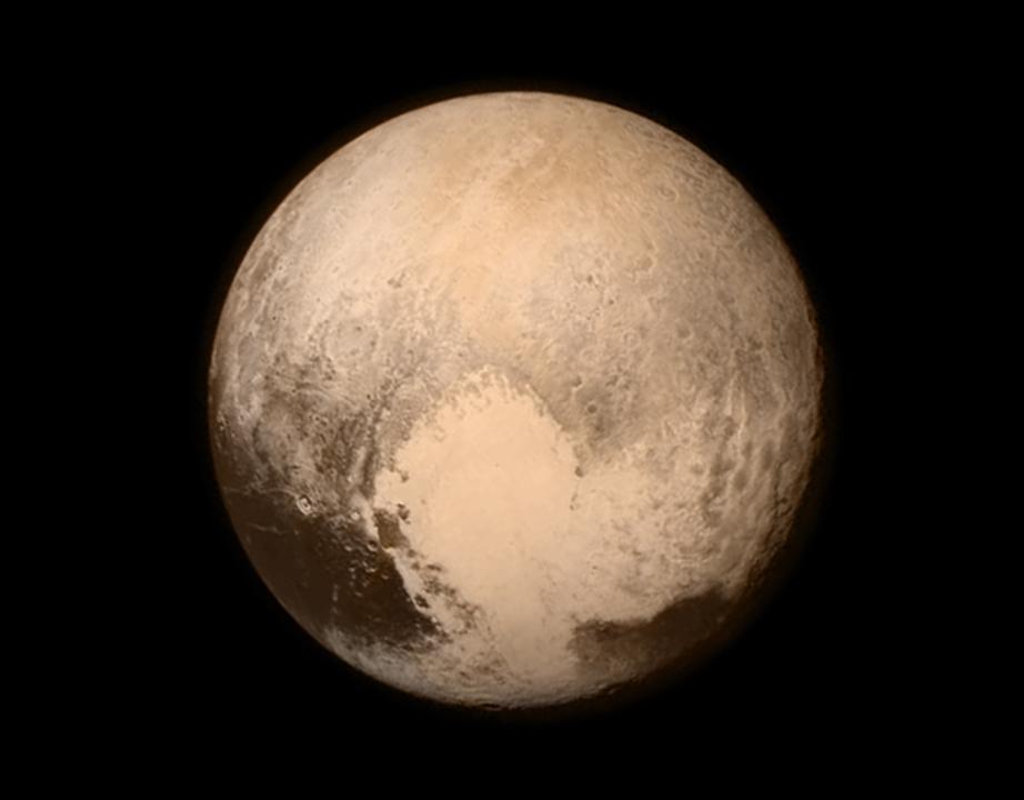 史上初。冥王星の上空、約1万3,000キロにNASAの探査機が到達