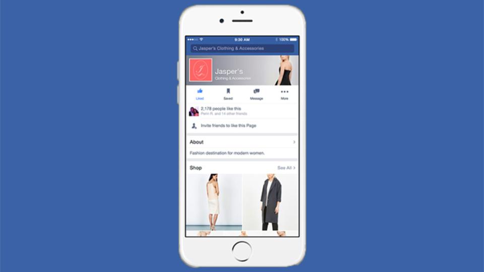Facebookがショッピングモールになる日が近いようです