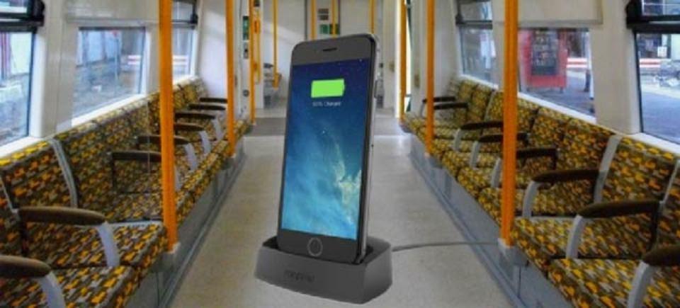 ロンドンの電車でスマホ充電したら逮捕されることがあります