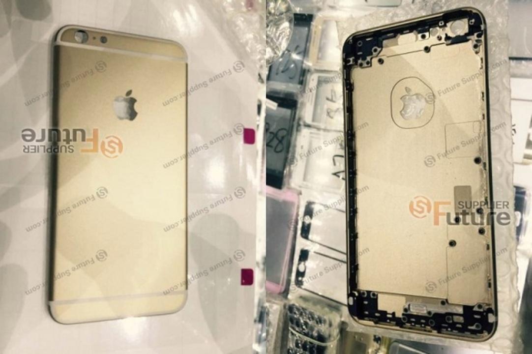 iPhone 6s Plusの背面部品が流出か。より頑丈で手触りが違う?