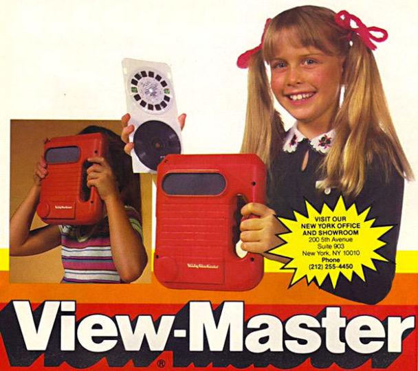 これが元祖Oculus Rift、3Dで音も聞こえる「View-Master」