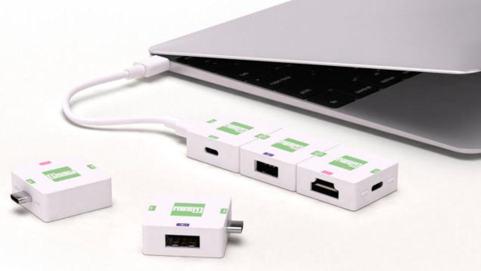 USB-Cのポートが足りないよ!というアナタのための拡張ブロック