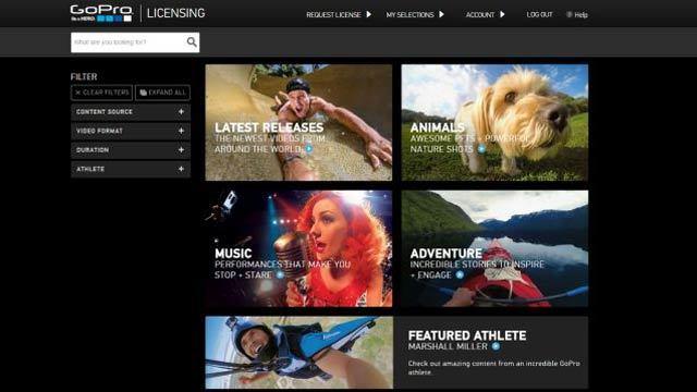 GoPro動画がお金になるぞ。映像制作者と企業をつなぐ「GoPro Licensing」オープン