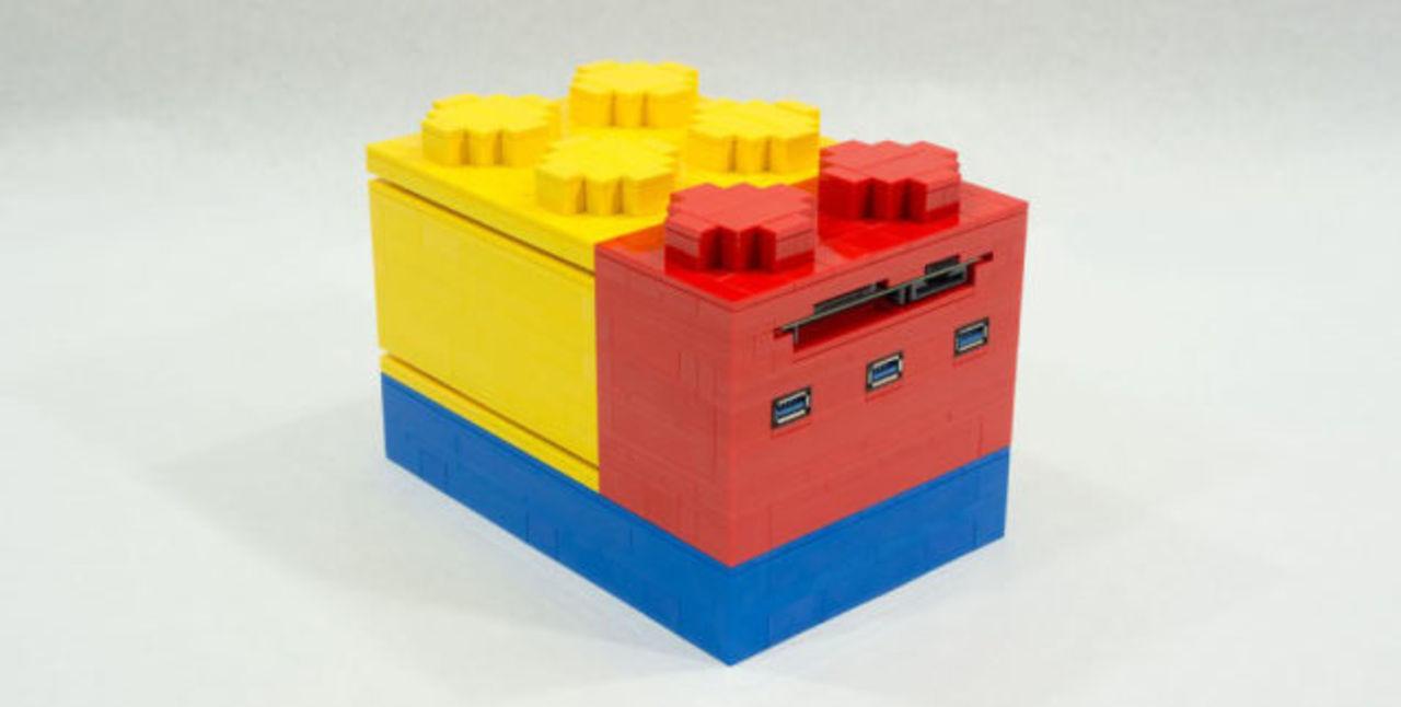 レゴのようなブロックをつなげて拡張するミニデスクトップPC