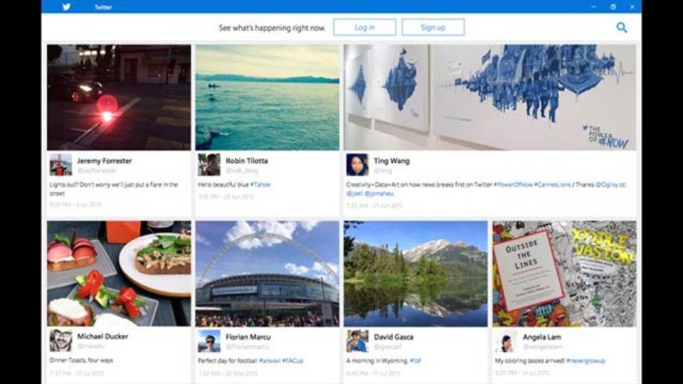 Twitterアプリが、Windows 10用にアップデート準備中