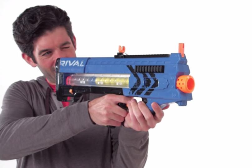 おもちゃの銃がグレードアップして攻撃力がとても上がっちゃったようです